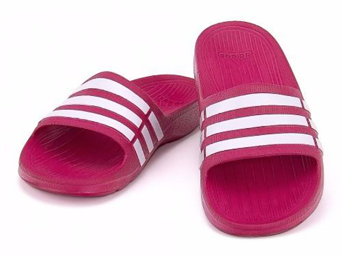 chinelo da adidas feminino rosa