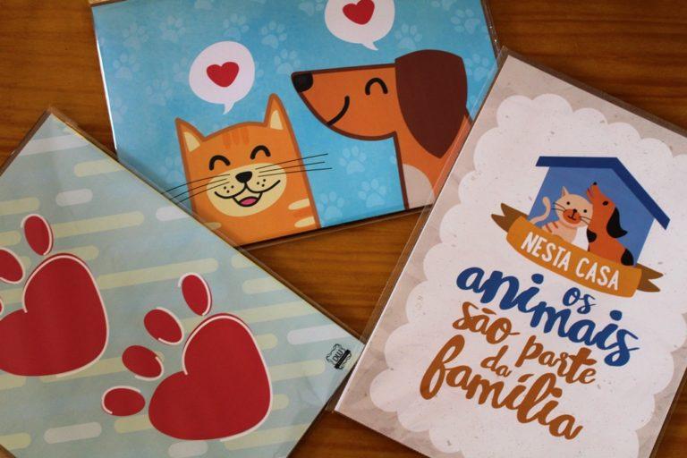 Paredes e Animais Felizes: ajude um pet e ganhe um poster!