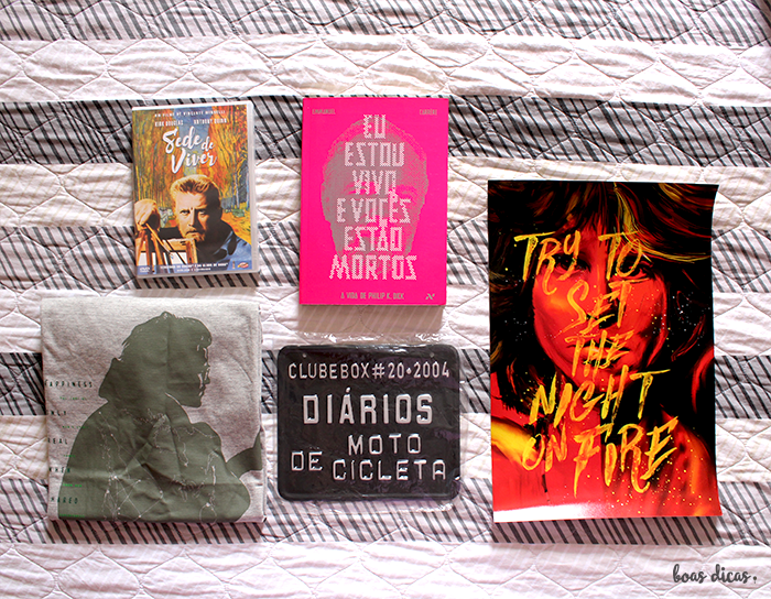 Clubebox Brasil: livros, filmes e outras surpresas em sua casa