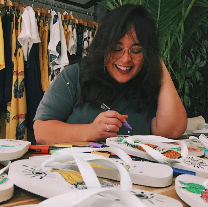 Constance Fortaleza promove evento com a ilustradora Auxi Silveira