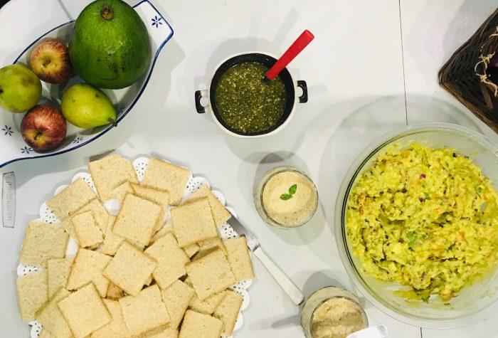 Curso naVEGANdo: receitas veganas para um happy hour