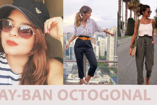 Looks com Ray-ban Octogonal