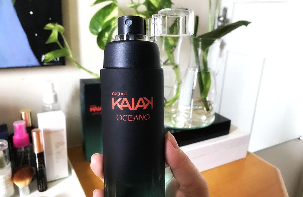 Kaiak Oceano Feminino: resenha do novo perfume floral sustentável da natura